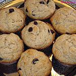recette Muffins aux bananes et au beurre d'arachide