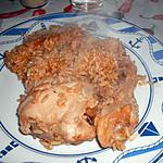 recette Pilaf de poulet sauté