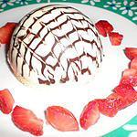recette dome chocolat blanc,mousse chocolat blanc et coeur fraise