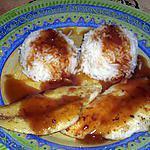 recette filets de poisson sauce aigre-douce