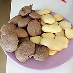 recette Madeleine chocolat et nature