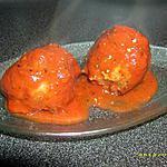 recette boulettes de boeuf sauce marinade