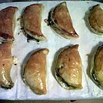 recette Chausson chèvre épinard