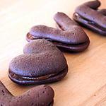 recette ** Whoopies Love N' Coeur au chocolat & caramel **