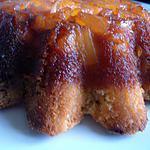 Cake renversé à l'Ananas fourré à la Noix de Coco