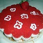 recette Bavarois aux fraises et spéculoos