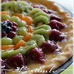 recette Tarte aux fruits et au chocolat blanc