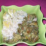 recette Tendrons de veau.... au curry...