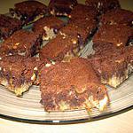 recette BROWNIES AU 2 CHOCOLATS