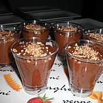 recette Mousse au chocolat au pralin