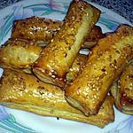 recette Allumettes au fromage et au jambon