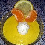 recette Crème aux agrumes