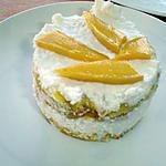 recette petites génoise mangue coco