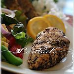 recette Poitrine de poulet au citron et à l'origan