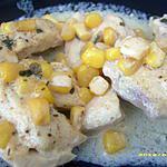 recette filets de poulet au maïs cuit en papillote