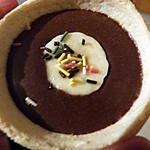 recette Tartelettes à la mousse aux chocolat