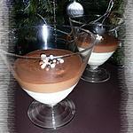 recette Duo de mousse au chocolat blanc & au Toblerone