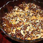 recette Bourghoul au gingembre et à l'orange