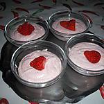 recette Mousse aux fraises