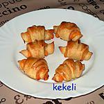 recette croissant au blanc de poulet et mimolette