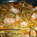 recette saucisses aux haricots verts en sauce tomate