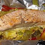 recette saumon en papillote