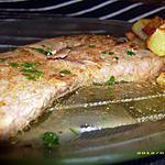recette bifteck au beurre d'anchois