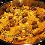 recette Poulet marocain aux olives