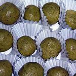 recette TRUFFES CHOCOLAT BLANC / PISTACHE BIO