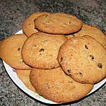 recette Cookies aux speculoos et pépites de chocolat