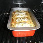 Cake aux 4 légumes, chorizo et chèvre