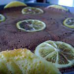 recette Mousse au Chocolat *Pétillante*enrobé d'un biscuit Citronné