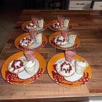 recette tartelette aux fraise et sa mousse au citron et fraise