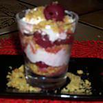 recette verrines aux cerises