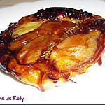 recette Tatin d'échalotes caramélisées