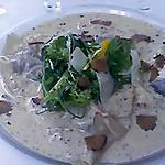 recette ravioles de foie gras sauce aux morilles