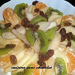 recette salade vitaminée aux fruits d'hiver