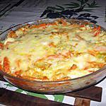 recette Gratin de poisson aux légumes et au curry