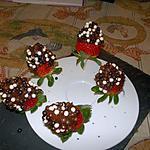 recette fraises au chocolat
