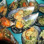 recette moules au beurre d'escargots
