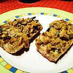 recette Croûtes de champignons au curry