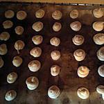 recette meringues au sirop de framboise
