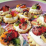 recette Sablé façon tarte aux fruits