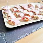 recette Sushi de jambon à la macédoine