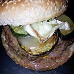 Hamburger courgettes pésto et chévre