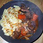 """recette """" Guisado de carne al Jerez"""".... ( Viande en sauce....)"""