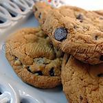 recette Biscuits moëlleux aux grains de chocolat ( Le parfait biscuit)