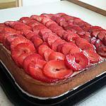"""recette Tarte aux fraises """"rapide"""""""
