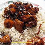 recette Cubes de poulet au goût de côtes levées