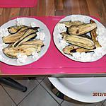 recette aubergines grillé et sa chantilly au cumin